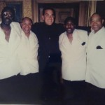 Ronnie Canada and The Drifters with Robbie Williams