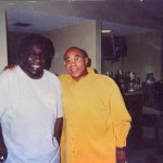 Ronnie Canada with Eddy Levert of The Ojays