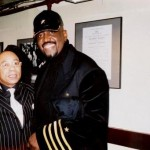Ronnie Canada with Otis Williams of The Temptations