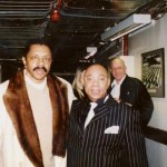 Ronnie Canada with Ron Tyson of The Temptations
